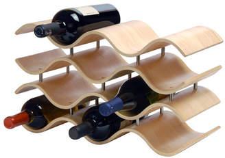 Wade Logan Wittmer 10 Bottle Tabletop Wine Rack