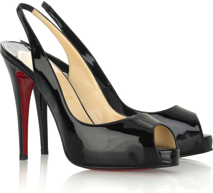 Christian Louboutin N. Prive slingbacks