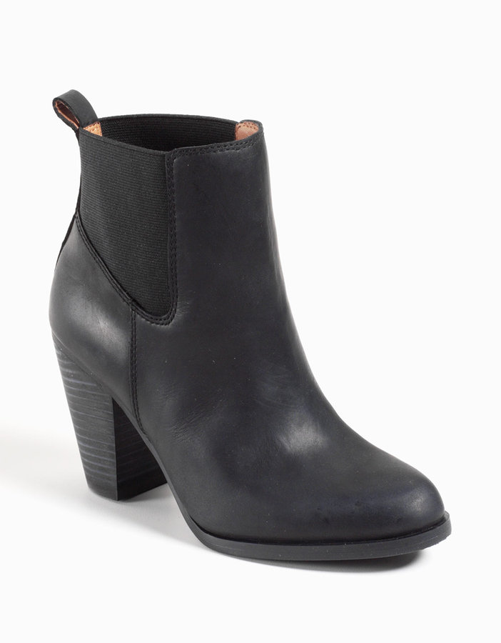 Lucky Brand Parlei Leather Ankle Boots