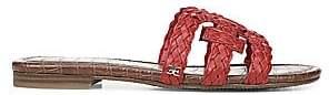 Sam Edelman Women's Beckie Woven Leather Sandals