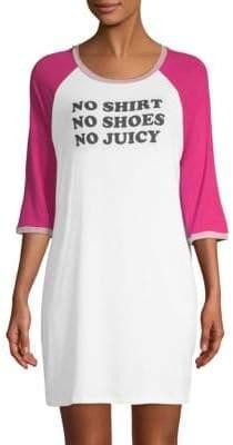 Juicy Couture Graphic Raglan Nightshirt