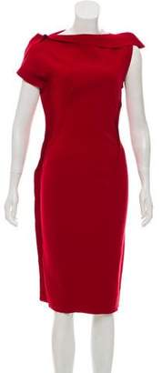 Lanvin Wool Sheath Dress