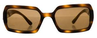 Chanel Tortoiseshell CC Sunglasses