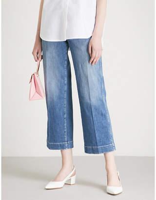 Paige Nellie Culotte wide-leg high-rise jeans