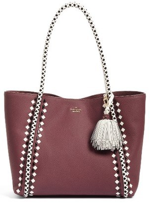 Kate Spade New York Crown Street - Ronan Leather Tote - Red $578 thestylecure.com