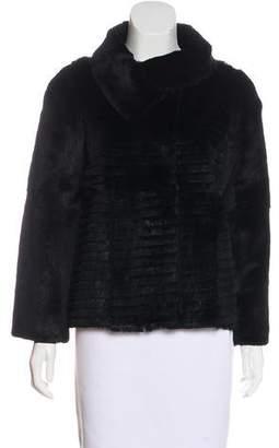 Anya Hindmarch Silk-Lined Fur Jacket