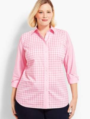 Talbots The Classic Casual Shirt - Gingham