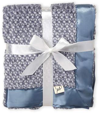 Baby Essentials Piccolo Bambino (Newborn/Infant Boys) Blue Faux-Fur Stroller Blanket
