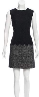 Dolce & Gabbana Lace-Accented Mini Dress
