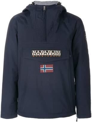 Napapijri patched hoodie
