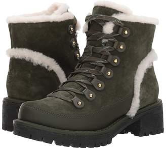 Tory Burch Cooper Shearling Boot Women's Dress Boots