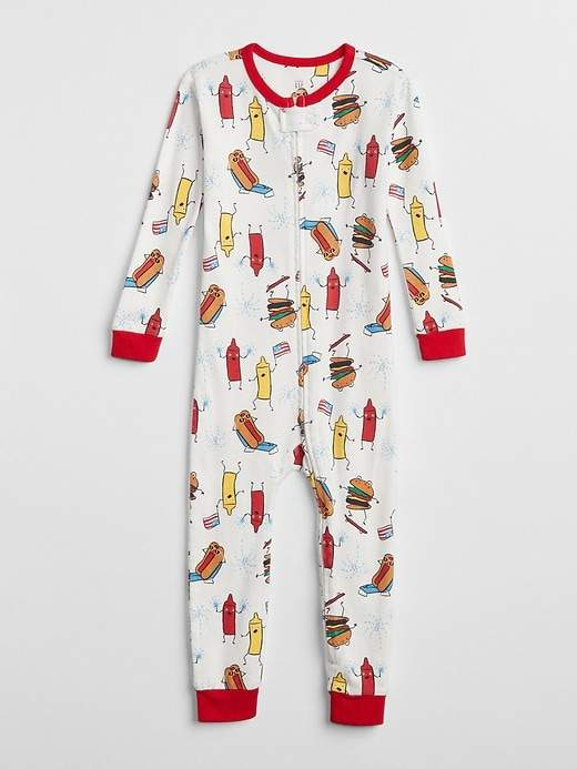 BBQ Footed One-Piece