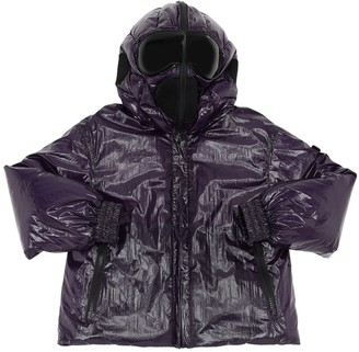 AI Riders On The Storm Water Resistant Laque Nylon Down Jacket