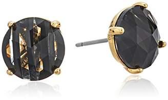 "Kate Spade Striped Studs"" Bright Ideas Striped Sapphire Multi Stud Earrings"