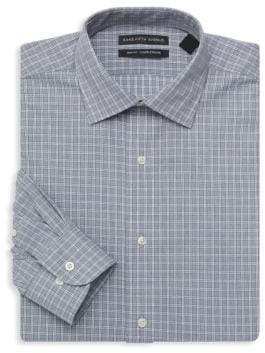 Saks Fifth Avenue Slim Fit Plaid Dress Shirt