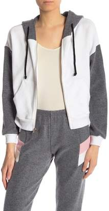 Wildfox Couture Front Zip Knit Hoodie