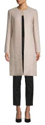 Calvin Klein Single-Clasp Long-Sleeve Jacket