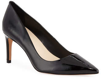 Sophia Webster Rio Mid-Heel Patent Leather Pumps