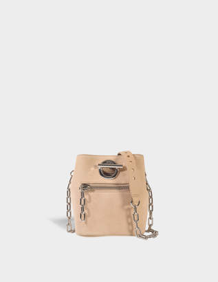 Alexander Wang Riot Crossbody Bag in Cashmere Goatskin Leather