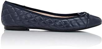 Barneys New York WOMEN'S NELLY CAP-TOE FLATS