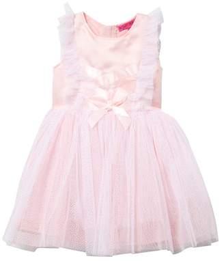 Betsey Johnson Ribbon Accent Dress (Little Girls)