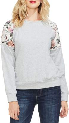 Vince Camuto Drop Shoulder Sweatshirt
