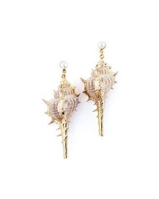 Auden Alana Sea Shell Drop Earrings