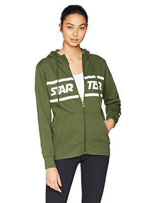 Starter Women's Zip-Up Logo Hoodie, Amazon Exclusive
