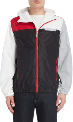 Members Only Color Block Hooded Jacket