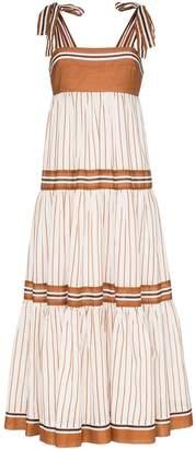 Zimmermann Veneto tiered maxi dress