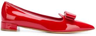 Salvatore Ferragamo Vara pointed toe flats