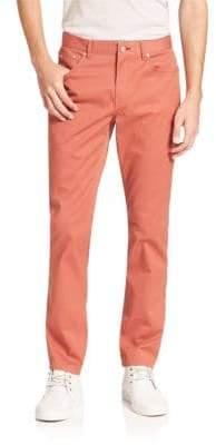 Michael Kors Slim-Fit Five-Pocket Twill Pants
