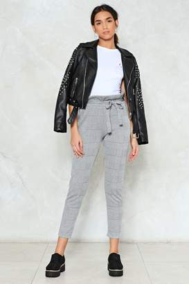 Nasty Gal Be There High-Waisted Pants