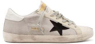 Golden Goose Super Star Low Top Leather Trainers - Womens - White