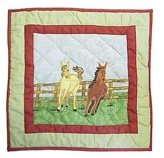 Patch Magic Horse Toss Pillow