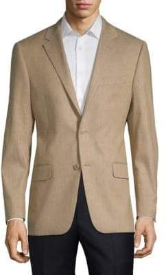 Hickey Freeman Linen-Blend Sports Jacket