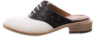 Band Of Outsiders Leather Oxford Mules