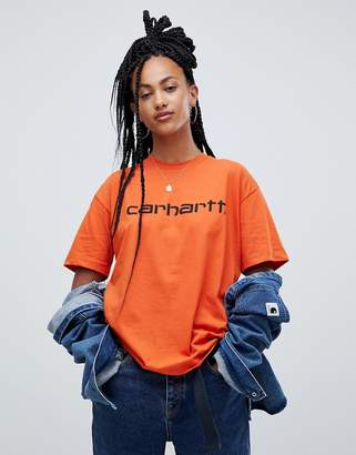Carhartt Wip WIP Relaxed T-Shirt With Logo
