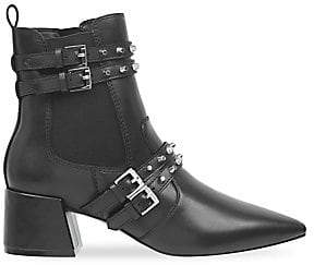 KENDALL + KYLIE Women's Rad Studded Leather Booties