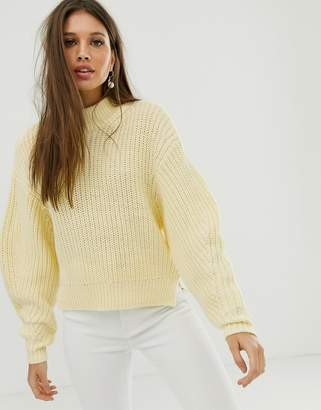 Asos Design DESIGN chunky sweater with crew neck