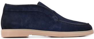 Santoni desert slip-on boots