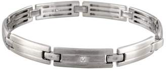 Tiffany & Co. Lucida 18K White Gold 0.35 Ct Cut Diamond Bracelet