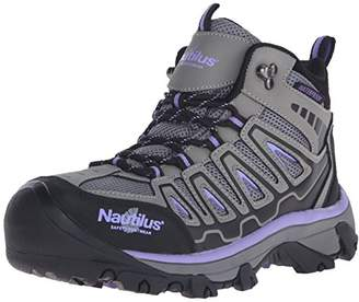 Nautilus 2251 Women's Light Weight Mid Waterproof Safety Toe Hiking Shoe