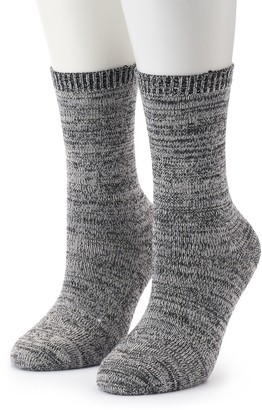 Columbia Women's 2-Pack Marled Crew Socks