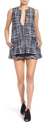 KENDALL + KYLIE Kendall & Kylie Ziggy Graphic Mini Dress