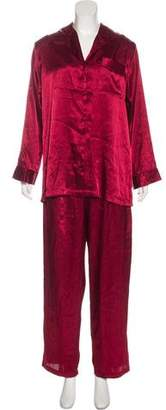 Valentino Satin Pajama Set