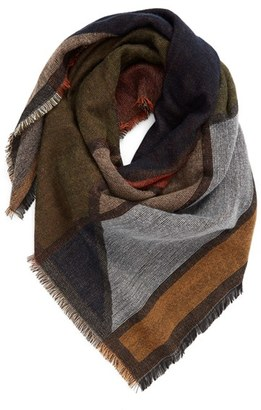 Women's Bp. Geo Pattern Woven Square Scarf $29 thestylecure.com
