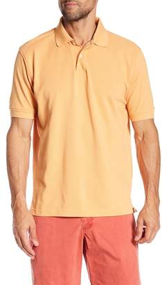 Bills Khakis Supima Pique Papaya Polo Shirt