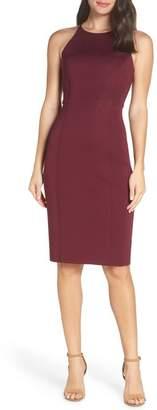 Chelsea28 Scuba Sheath Dress