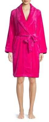Sesoire Pom-Pom Fleece Bathrobe